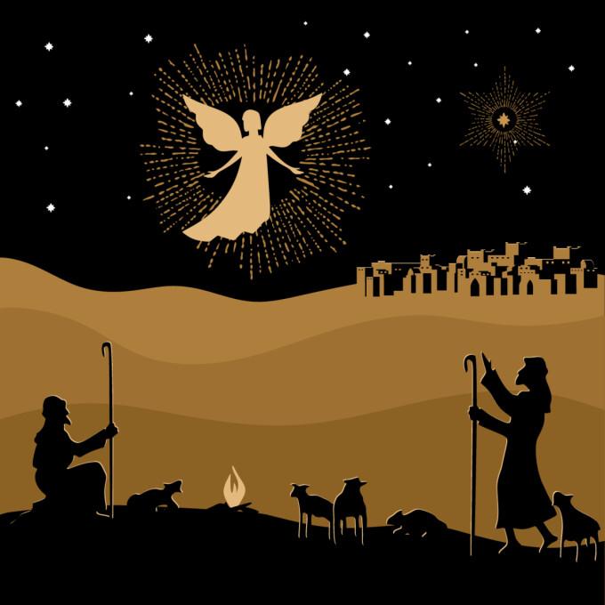 Heralding the Birth of Jesus