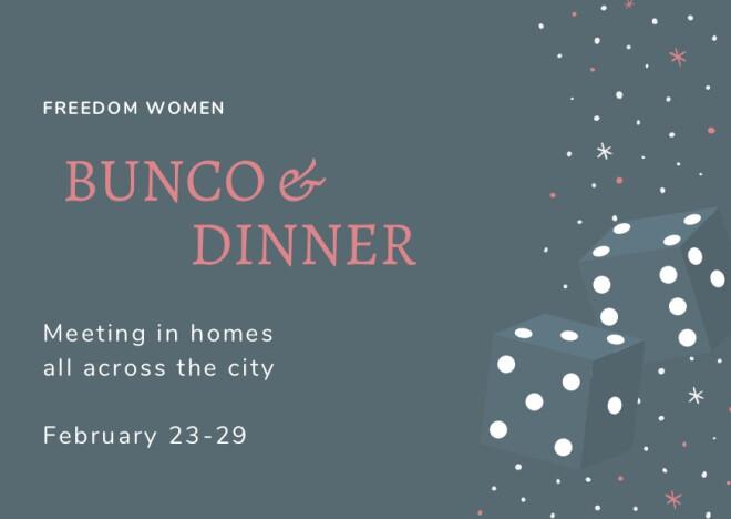 Women's Bunco and Dinner